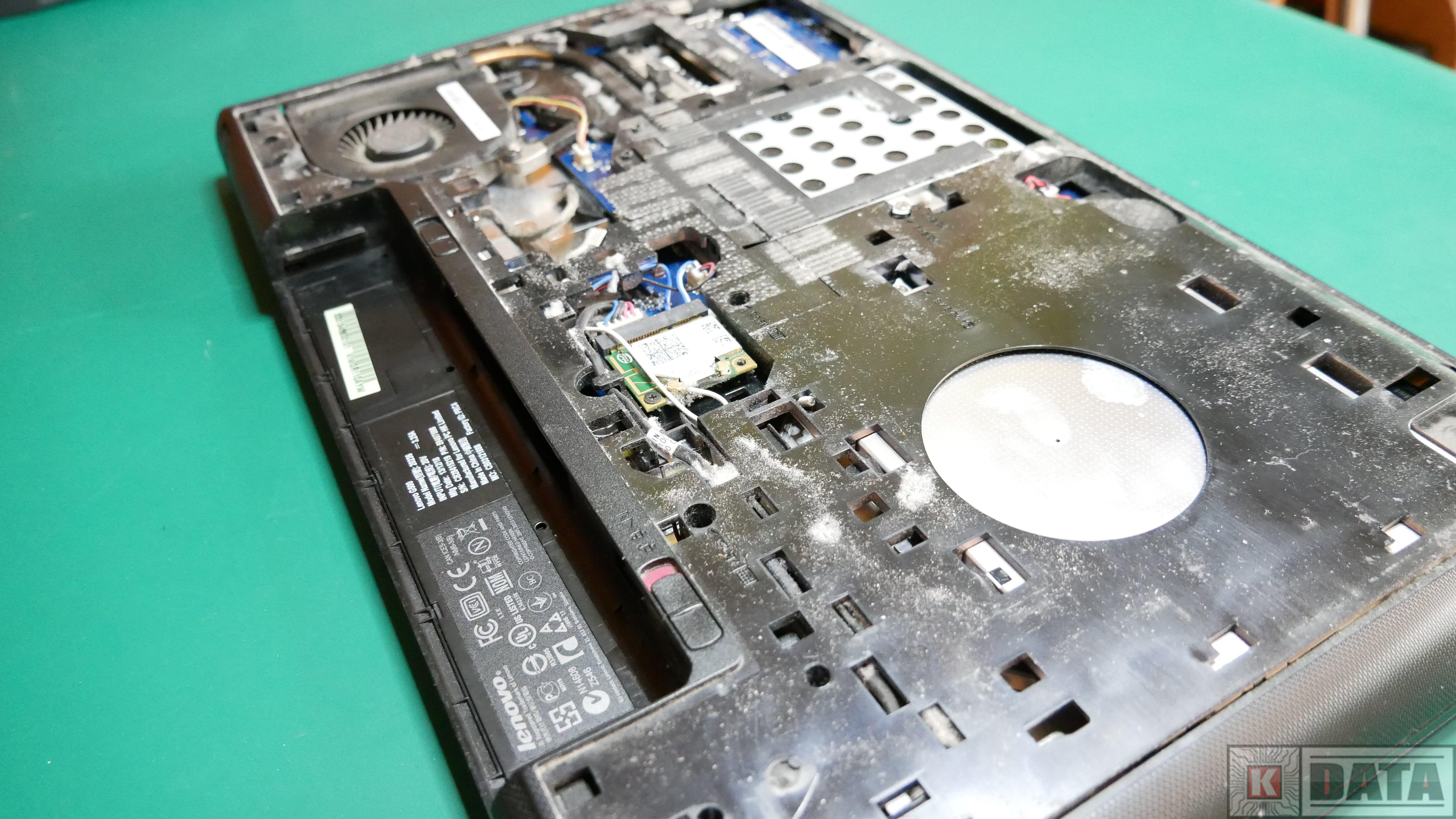 Lenovo Ideapad G500 bez pokrywy dolnej
