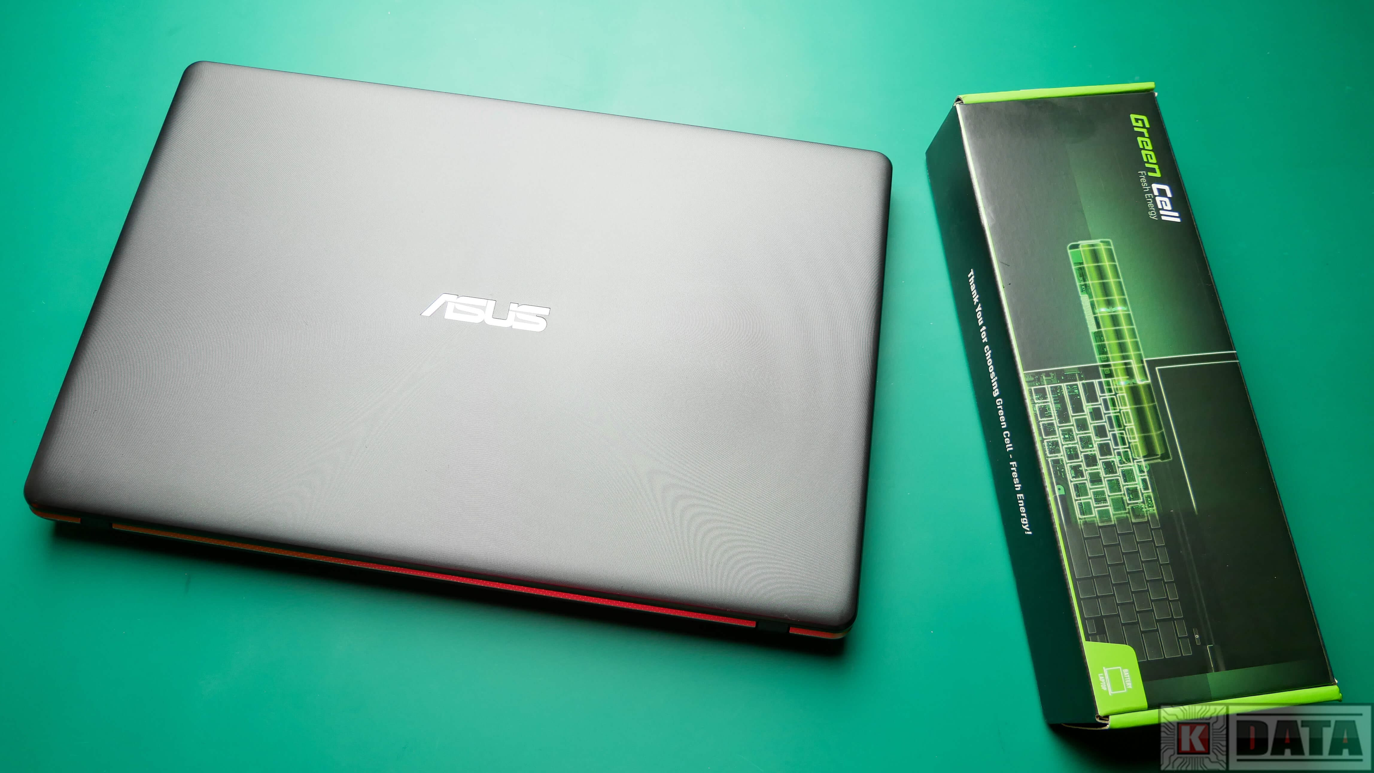 Notebook ASUS i bateria Green Cell