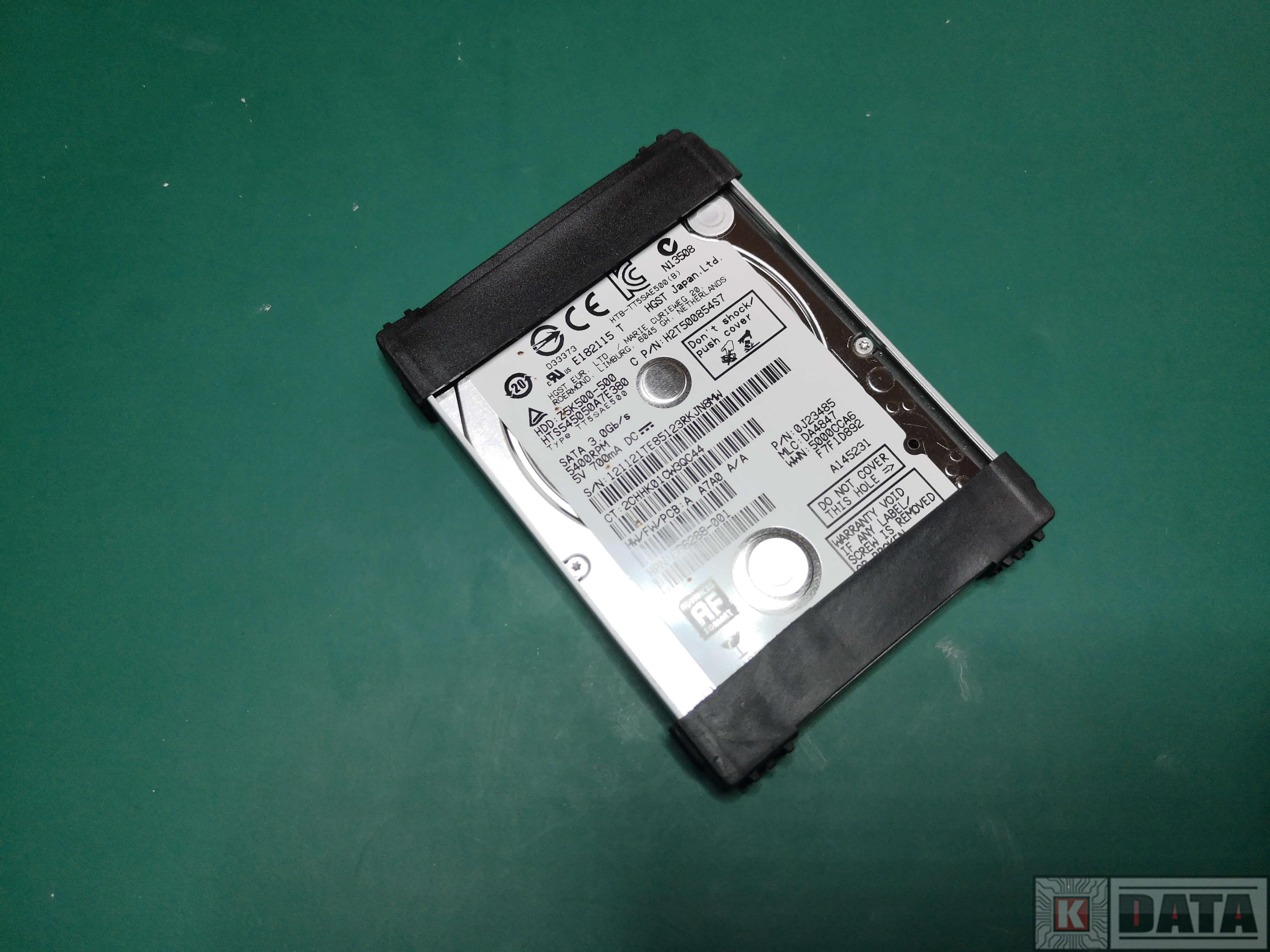 HP Pavilion G7 dysk HGST 500GB