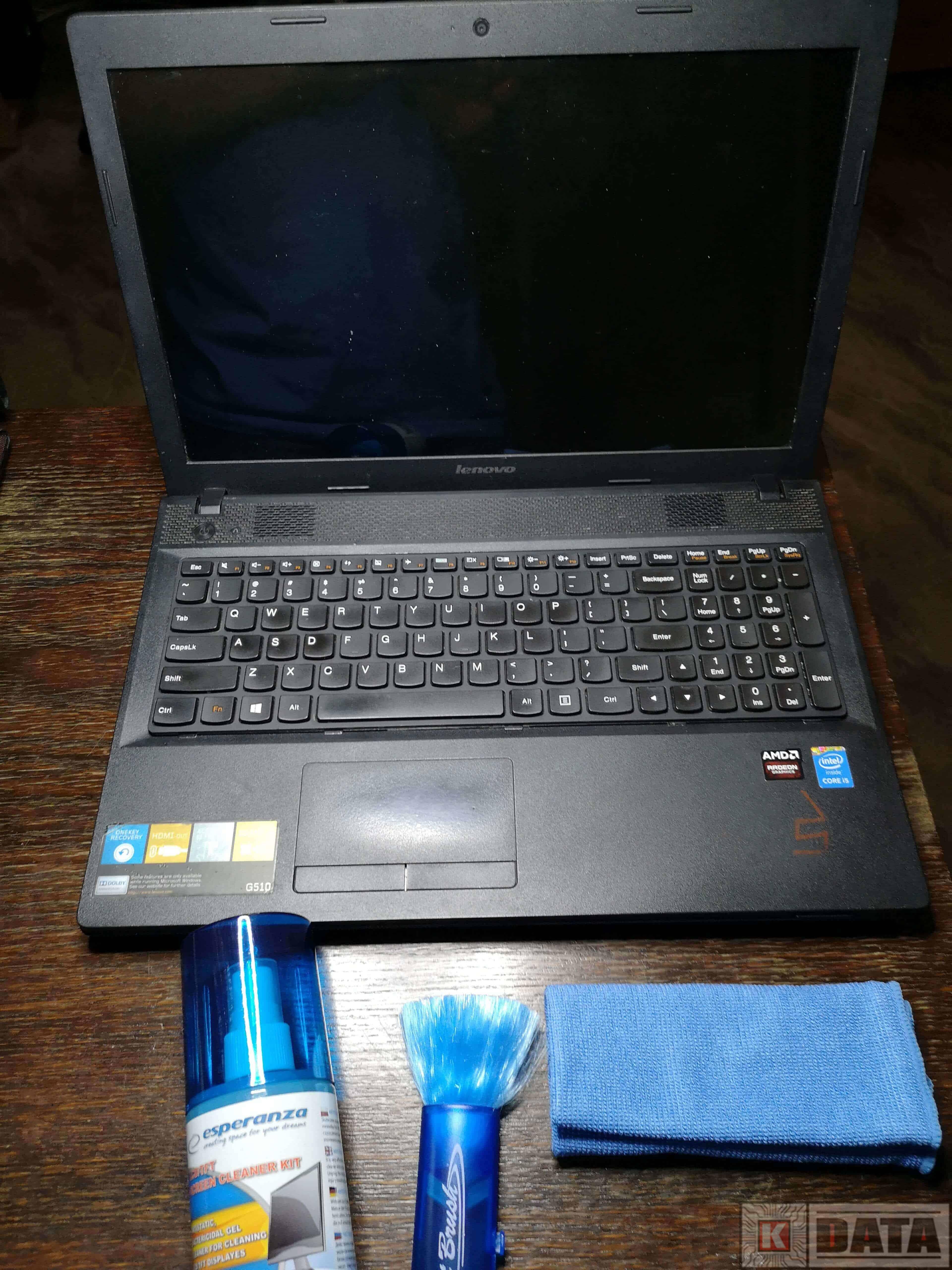 Lenovo Ideapad G510 czyszczenie