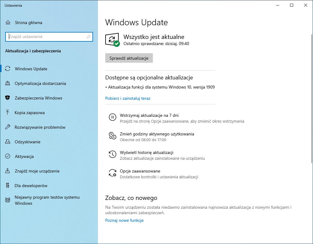 Usługa Windows Update