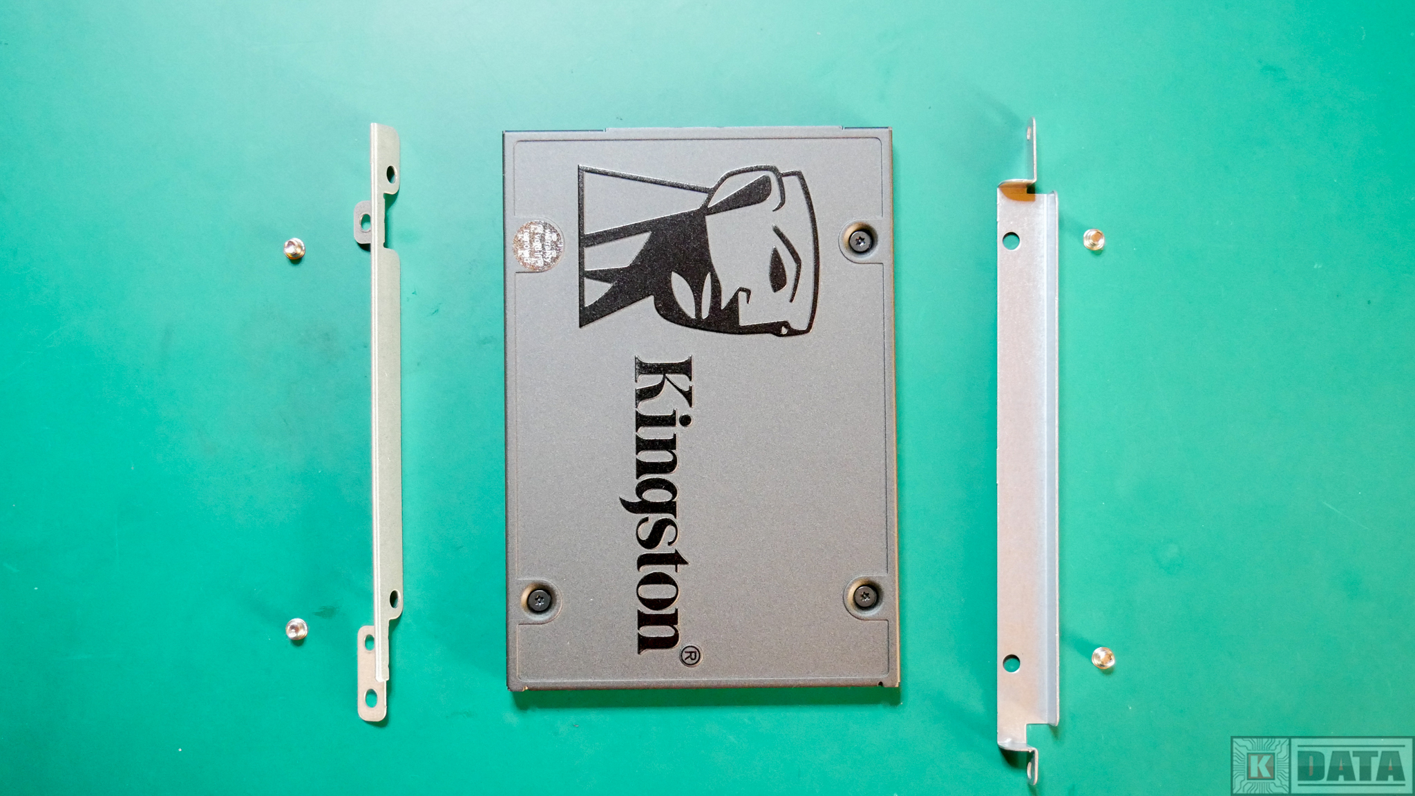 Dysk SSD Kingston A400 mocowanie sanki