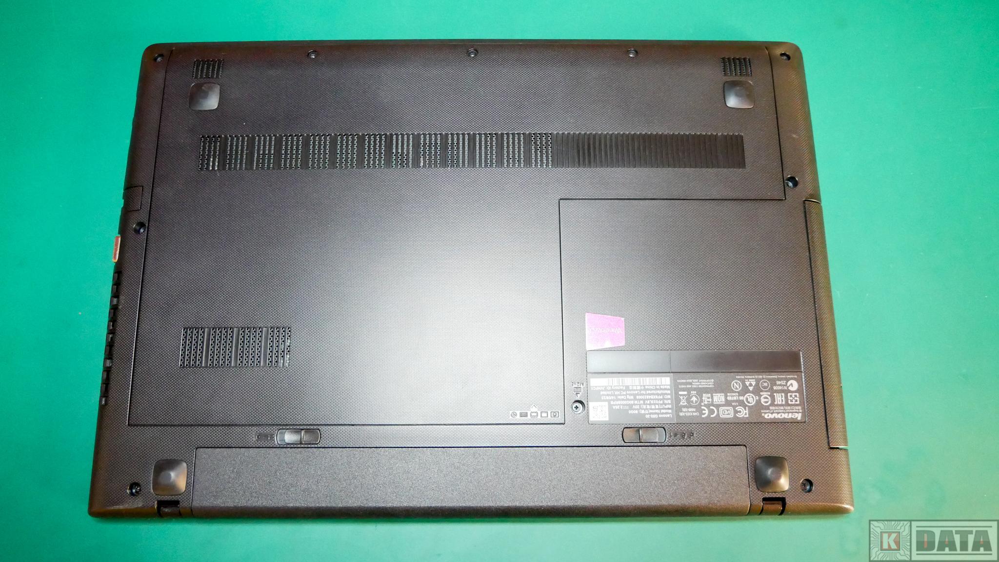 Lenovo Ideapad G50-30 założona maskownica
